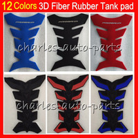 Wholesale 12 Colors D Rubber Gas Tank Pad Protector Tank stickers decals pads For For HONDA KAWASAKI SUZUKI YAMAHA DUCATI BMW TRIUMPH Aprilia HM13