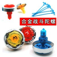 Wholesale Most powerful magic top toy strongest battle alloy gyro magic top set children s toys