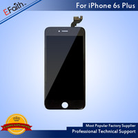 Wholesale Iphone Display Touch Panel - For Black iPhone 6S Plus Grade A+++LCD Touch Screen Display With 3D Touch Assembly Replacement Part & Free Shipping