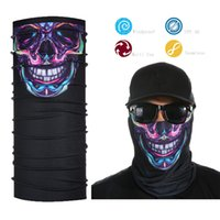 Al por mayor- Skull Tube Face Shield Bandana