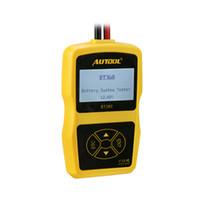 Wholesale Bst Bmw - car High Quality AUTOOL -360 BT360 car BT 360 Updated bst-100 battery tester