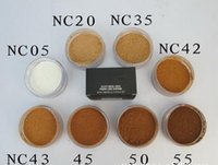 M Brand Makeup Face Powder Seleziona Pouder Pure / Loose Pure Libro Diaphane Loose con la scatola Matte Minerale Powder 8g Foundation