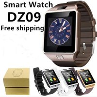 Wholesale Packaging Window Boxes - DZ09 Smart Watch GT08 U8 A1 Wrisbrand Android Iphone Smart SIM Intelligent Mobile Phone Watch Sleep State Smartwatch Box Package