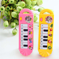 Wholesale Toy Piano Accordion - Children early childhood teaching multi - function music keyboard intelligent piano small accordion toys wholesale plastic toys