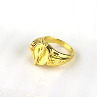 Wholesale opening flash - Newest Jewelry Superhero The Flash Ring Can Open Cover Lightning Logo Gold Rings Size 7~12 For Men And Women
