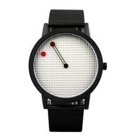 Wholesale Designer Men Briefs - 2017 men gift brief design gentleman creative geometric designs Floating pointer 3D dail young designer quartz watches drop shipping