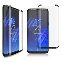 Wholesale Packaging Scale - New Arrived 3D Curved Full Cover For Samsung Galaxy S8 Plus Screen Protector Film Scaled Down Mini Tempered Glass With Retail Package
