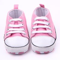 Wholesale girl studies - Wholesale- 0-1 Year Baby Shoe Baby Shoe Indoor Baby Girls Soft Bottom Non-slip Embroidered Study Walking Shoes Babyshoes Footwear Crib Shoe