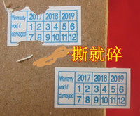 2017 2018 2019 Adhesive Stickers: Warranty void if damaged For Repair 15*8mm