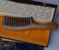 Wholesale Brush Suppliers - High quality wide-tooth comb anti-static round handle comb china comb supplier