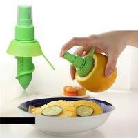 Wholesale Citrus Fruit Squeezer - Home Fruit Sprayer Lemon Sprayer Fruit Juice Citrus Spray Cuisine Gadget Kitchen Cooking Tools Accessories