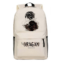 Wholesale Cosplay Anime School Bag - Wholesale- New Cartoon Anime Fashion Children's School Bag Noragami Backpack ARAGOTO Yukine Cosplay backpacksTravel Laptop Book Bags