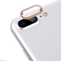 Wholesale Camera Lens Tempered Glass Protector Guard Cover Ring For iPhone PLUS INCH