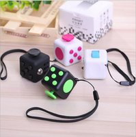 Wholesale Magic Box Sets - Newest 11 Colors 2017 New Magic Fidget Cube World's first American Decompression Anxiety Finger Toys with Retail Box