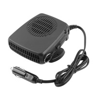 Wholesale electronics fan online - Auto Car Portable Dryer Heater Fan Defroster Demister DC V Car Electronic Tool