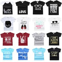 Sommer Baby Jungen T-Shirts Kinder Tops 100% Baumwolle Baby Kleider Mädchen T-Shirts Kinder T-Shirt Jerseys Infant Kleidung 1 2 3 Jahre Bluse Outfits