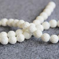 Wholesale 15inch Necklace - New Necklace&Bracelet Accessories 10mm Tridacna Stone Turkey Turquoise Jasper stripe Jade Howlite loose beads 15inch Jewelry