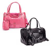 Wholesale Pet Foldable Bag - Free Shipping Factory Wholesale Foldable Pet Dog Carrier Bag Crocodile Pattern
