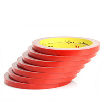3m acryl schaum klebeband groihandel-3M Selbstklebeband-Größe 6mmx3m doppelseitiges Kleber-Aufkleber-Rollenacrylschaum-klebendes Auto-Zubehör-Innenband geben Verschiffen frei CEA_30Q