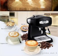 Wholesale Italian Style Coffee - Commercial and home semi-automatic type steam coffee machine 15bar 850W pump 1.2L coffee maker Italian Style Semi Automatic Hot Drinks Maker