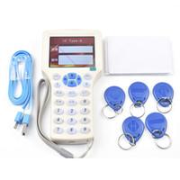 Wholesale rfid copier online - Super Handheld Rfid NFC Copier Reader Writer cloner frequency khz card mhz UID Changeable Card