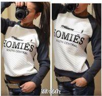 Wholesale Homies Tracksuit - Fashion 2017 New HOMIES Printed Sweatshirt Women Sport Suit Womens Sport Suit Womens Hoodies Casual TrackSuits Hoodies Casual TrackSuits