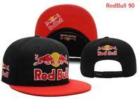 Wholesale snapback plastics - wholesale price red bull hats cap Adjustable Snapback Hat Baseball Caps Adult Acceap Mix Order