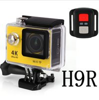 Wholesale Under Car Led - 4K orginal Eken H9R Action Camera With Remote Go Pro Camera Wifi Waterproof Recorder 170 Degree Car Drone Shockproof Bycycling Sports Camera