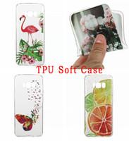 Wholesale Cartoon Girls Phone Case - Cartoon Feather Watermelon TPU Soft Case For Samsung Galaxy S8 Plus 2017 A3 A5 J3 J5 J7 Tiger Fruit Girl Flower Mandala Phone Cover Skin