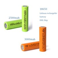 Wholesale E Cig Lighted Batteries - Authenitc 18650 HG Battery rechargeble battery 3000MAH 25R 2500mah Lithium battery for e cig and flashlight outdoor light whoesale DHL Free