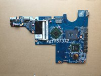 Wholesale Hp G62 Notebook - For HP Compaq Presario CQ62 G62 CQ56 G56 G72 Laptop Motherboard 616449-001 DAAX3MB16A1 DAAX3MB16A0 GL40 Notebook Systemboard
