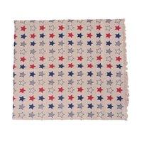 ingrosso tessuto cotone modello diy-Hoomall 1PC 97x50cm stella modello di tela del tessuto di cotone della rappezzatura DIY di cucito tessuto di tessile panno cucito