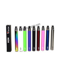 ingrosso ce4 vision batterie variabili-Vision Spinner Battery Variable Voltage 3.3 ~ 4.8V 650mah 900mah 1100mah EGO c Twist sigaretta elettronica 510 Thread per CE4 MT3 Protank DHL