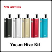 Wholesale Electronic Cigarettes Pens - Yocan Hive Kit 2 Kind of Atomizer For Wax & Oil electronic cigarettes 2in1 vape pen vaporizer VS Yocan Evolve plus