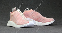Wholesale Mens Sport Toe Socks - Naked Kith NMD CS2 PK Shoes Fashion Mens Women Pink Sand City Sock 2 Slip On Primeknit Boost Sneakers BY2596 Running Shoes For Men Sports