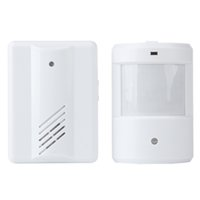 Wholesale Motion Sensors Remote Alarm - Wireless Remote Motion Sensor Detector Driveway Garage Alarm Alert Secure System Kit Patrol Doorbell Wireless Detector