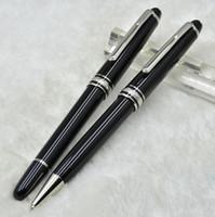 marka kalem satışı toptan satış-Sıcak satış Lüks Meisterstcek 163 Siyah Reçine Makaralı tükenmez kalem Tükenmez kalem Dolma kalemler Okul ofis malzemeleri MB Markala ...
