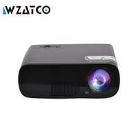 support de la télécommande usb pc achat en gros de-Gros-ATCO pas cher portable LED TV projecteur proyector Home cinéma LCD Projeteur HDMI USB beamer 3000Lumens pour home cinéma
