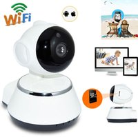 Wireless 720P Pan Tilt Network Accueil CCTV Caméra IP IR Night Vision WiFi Webcam Micro SD Slot Support Microphone P2P