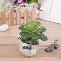 Wholesale Artificial Pot - Wholesale-1pc Artificial Succulent Without Pot Desert Plant Garden Home Landscape Decor Worldwide Store