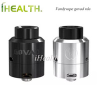 GOVAD RDA spring deck - Original Vandyvape GOVAD RDA ml Capacity Spring loaded clamp style build deck X Centric Airflow black stainless steel available Assemble