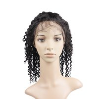 Wholesale Lace Front Human Hair Wigs Kinky Curly Virgin Hair Uglam Brazilian Virgin Hair Wig With Hairline Density Unprocessed