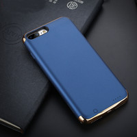 Wholesale External Charger Battery Case - 2017 New Arrival Power Bank Battery Case External Battery Backup Power Case Charger Powerbank for iPhone 7 7plus Case