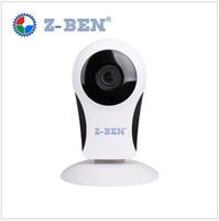 Wholesale Wireless Cctv 2mp - Z-BEN 2017 Newest 180 Degree Panoramic Camera 2MP Fisheye Panoramic IP Camera HD 1080P WIFI PTZ CCTV 3D VR Video IP Camera Cam