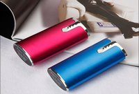 Wholesale cylinder packing resale online - Power Bank Universal mAh Portable Cylinder USB Mobile powerbank External Backup Battery Charger Emergency Power Pack for CELL Phone