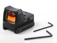 punto de vista trijicon al por mayor-Trijicon Reflex ajustable Mini Red Dot Sight Scope para Airsoft Shooting