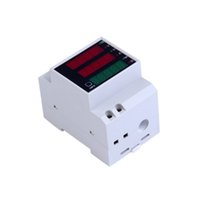 Wholesale amps electrical - AC 80-300 V 0-100.0A amperímetro voltímetro Din rail tempo display LED volt amp medidor de potência ativa do fator de potência energia atual
