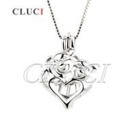 Wholesale 925 Silver 12 Mm - 3pcs 925 sterling silver pig shape locket pendant 17*12*8 mm