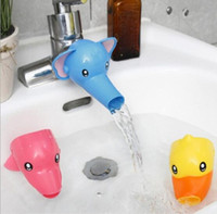 Wholesale Hand Wash Faucet - Lovely Cartoon Faucet Extender For Kid Children Kid Hand Washing in Bathroom Sink Accessories