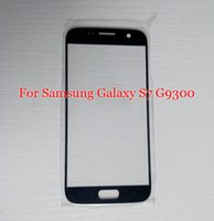 Wholesale S4 Touch Glass - Outer Glass For Samsung galaxy S7 G9300 Replacement LCD Front Touch Screen Glass Lens Cover for Samsung S4 i9500 S5 S6 S7 Cases
